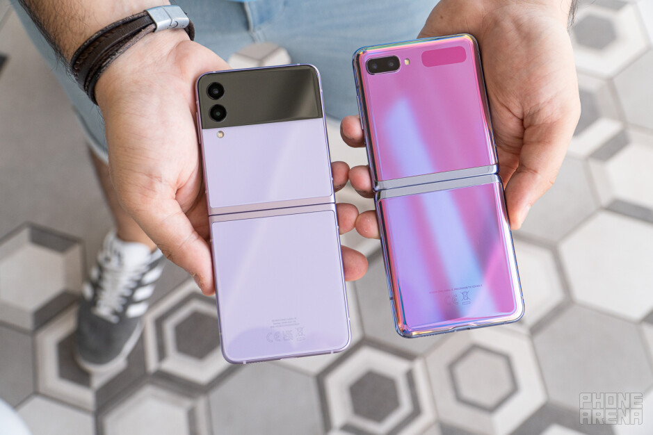 Samsung Galaxy Z Flip 3 vs Z Flip 5G: key differences