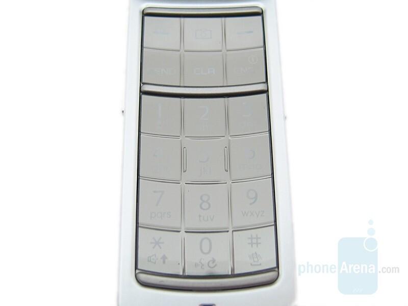 Keyboard - Samsung Juke Review