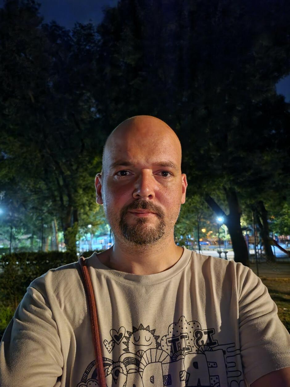 Galaxy Z Fold 3 selfies with main camera - Samsung Galaxy Z Fold 3 review: the story unfolds