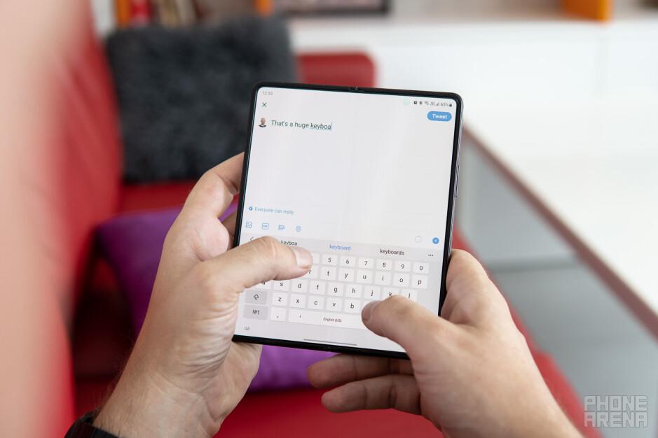 Finger gymnastics - Samsung Galaxy Z Fold 3 review: the story unfolds