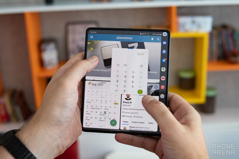 Samsung Galaxy Z Fold 3 review: the story unfolds