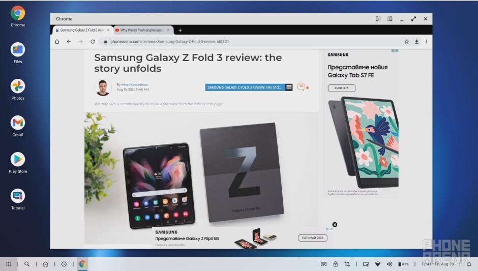 The Ready For software platform - Motorola Edge 20 Review: raising the bar