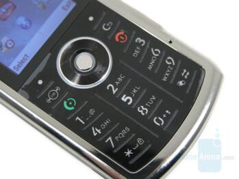 Keyboard - Motorola SLVR L9 Preview