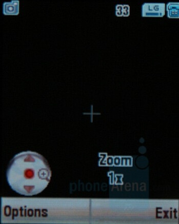 Camera Interface - Motorola SLVR L9 Preview