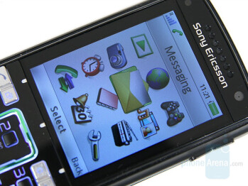 2.2 inches display - Sony Ericsson K850 Review