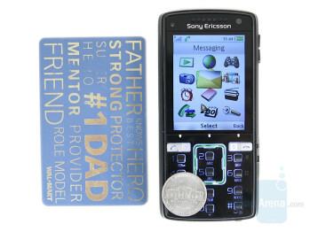 From Left to Right and Bottom to Top - Sony Ericsson K850, Samsung G600, Sony Ericsson W910 - Sony Ericsson K850 Review