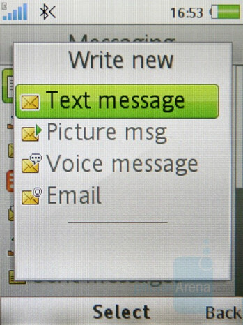 Messaging - Sony Ericsson K850 Review
