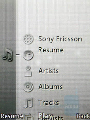 Music Player - Sony Ericsson K850 Review