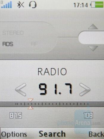 FM Radio - Sony Ericsson K850 Review