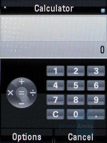 Calculator - Motorola RAZR2 V8 Review