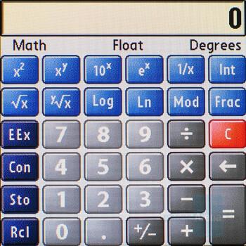 Calculator - Palm Centro Review