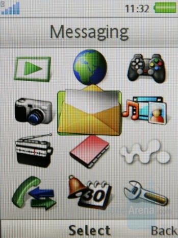 Main Menu - Sony Ericsson W910 Review