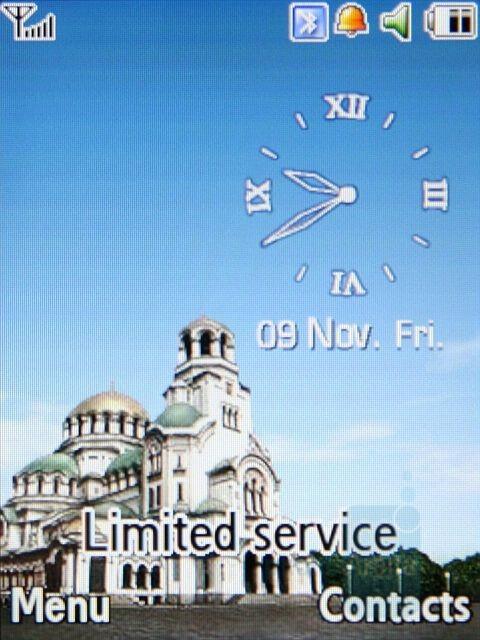 Living World - Samsung SGH-G800 Preview