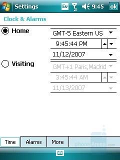 World Clock - Samsung SCH-i760 Review