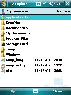 File Explorer - Samsung SCH-i760 Review