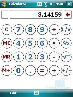 Calculator - Samsung SCH-i760 Review