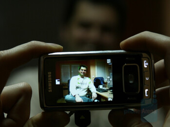 Face Detection - Samsung SGH-G800 Preview