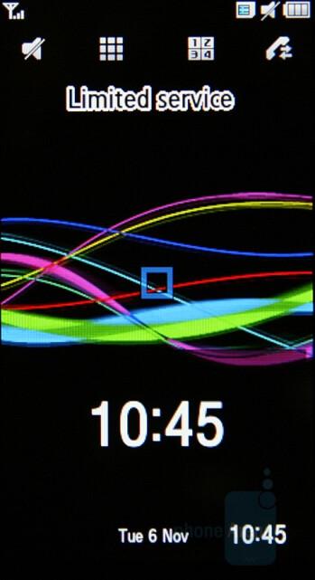 Portrait view - Samsung SGH-F700 Preview