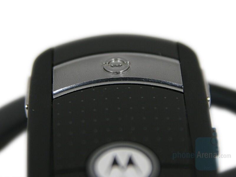 Call button - Motorola H800 Review