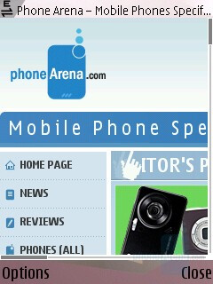 Internet browser - Nokia N95 US Review