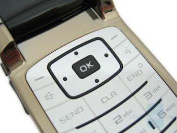 Keypad - Samsung Gleam Review