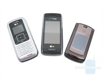 LG enV, LG Voyager, Motorola V9m - LG Voyager Review