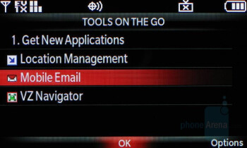 Messaging - LG Voyager Review