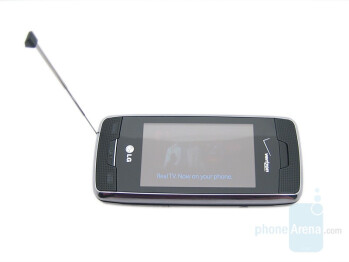 Retractable antenna - LG Voyager Review
