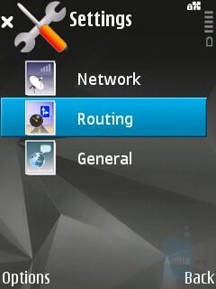 Nokia Maps interface - Nokia N81 8GB Review