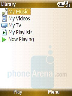 Windows Media Player interface - T-Mobile Shadow Review
