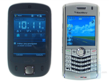 HTC Touch CDMA compared to BlackBerry Pearl 8130 - HTC Touch CDMA Review