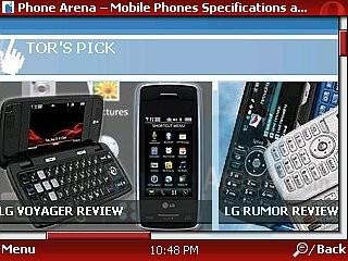 Opera Mini 4 - HTC Touch CDMA Review