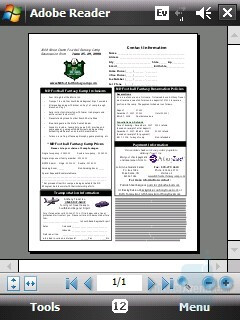 PDF document - HTC Touch CDMA Review