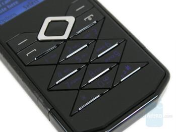 Keypad - Nokia 7900 Prism Review