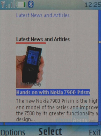 Nokia 7900 Prism Review