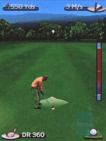 Golf Tour - Nokia 7900 Prism Review