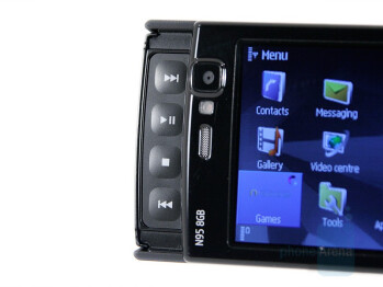 Multimedia keys - Nokia N95 8GB Review