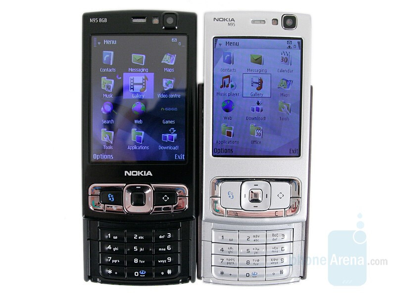 Compared to Nokia N95 - Nokia N95 8GB Review