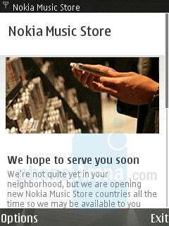 Music Store - Nokia N95 8GB Review