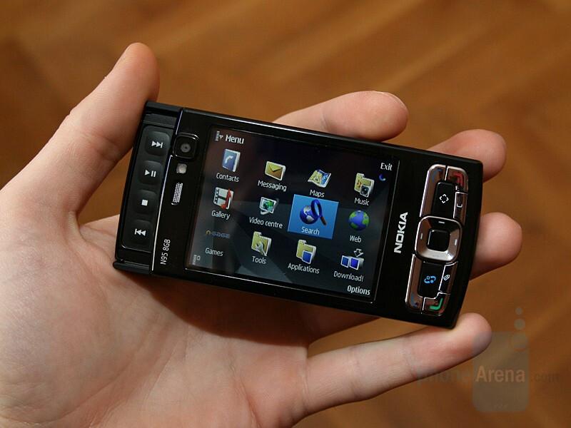 Nokia N95 8GB GPS chip