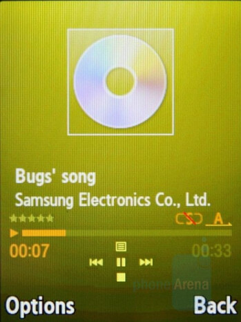 Now playing - Samsung SGH-G800 Review