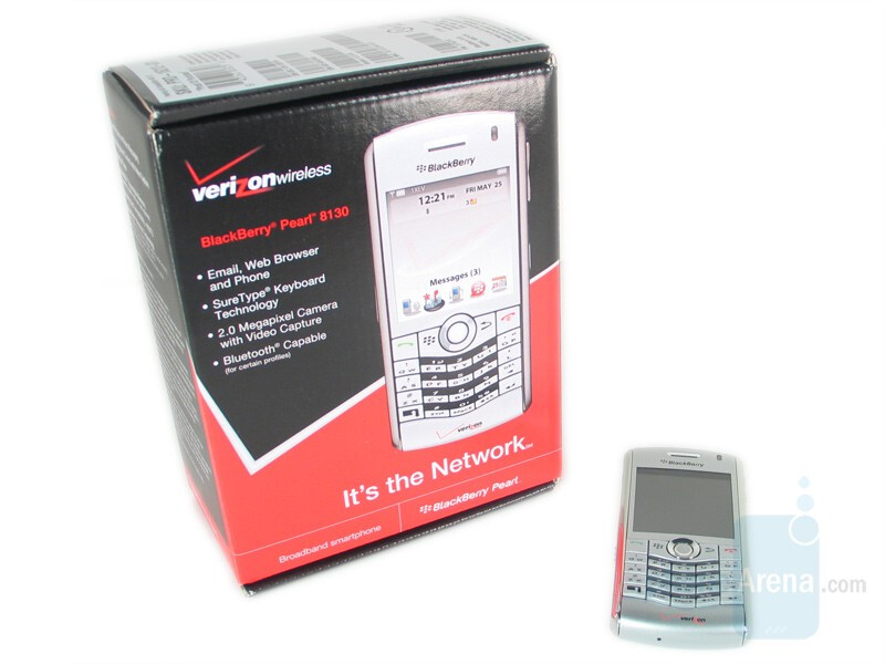 RIM BlackBerry Pearl 8130 Review