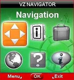 GPS Navigation and VZ Navigator - RIM BlackBerry Pearl 8130 Review