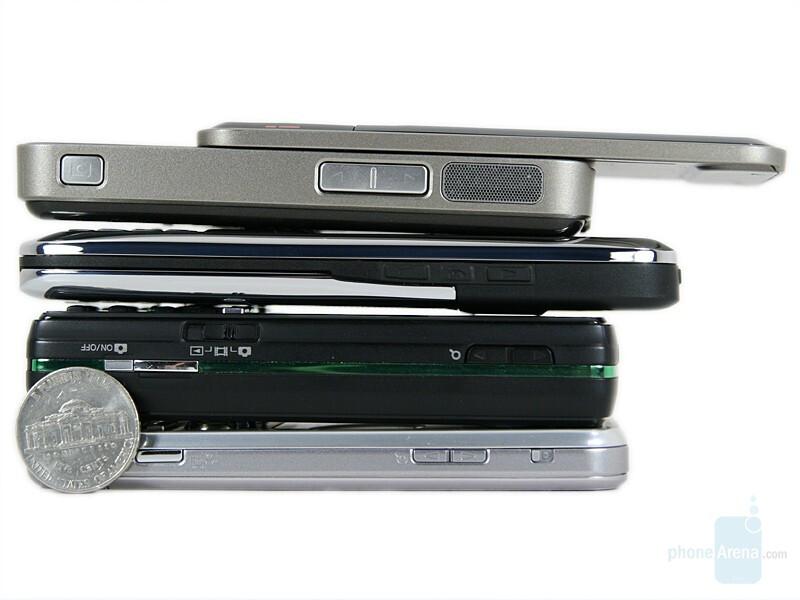 Sony-Ericsson W890, Sony Ericsson K850, Nokia E51 and Nokia N81 8GB - Sony Ericsson W890 Preview