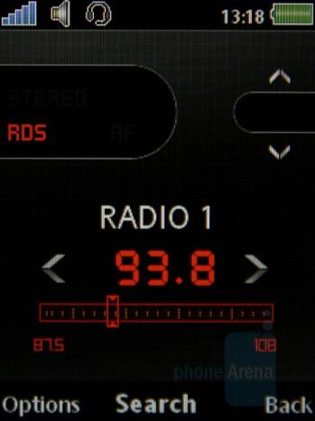 FM radio - Sony Ericsson W890 Preview
