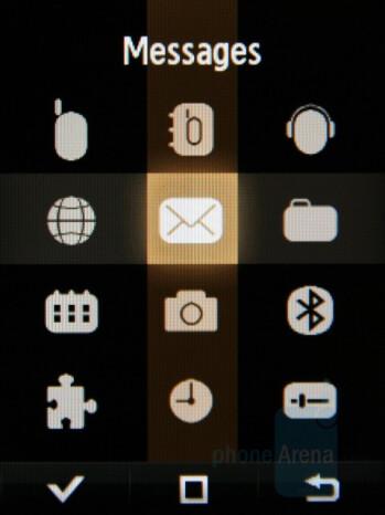 Main menu - Samsung Giorgio Armani Review