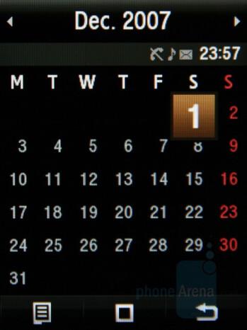 Calendar - Samsung Giorgio Armani Review