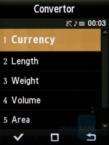 Unit Converter - Samsung Giorgio Armani Review
