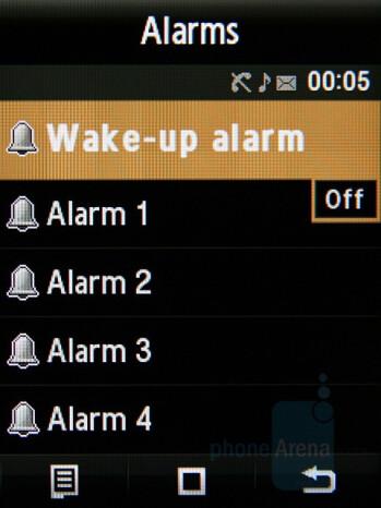 Alarms - Samsung Giorgio Armani Review