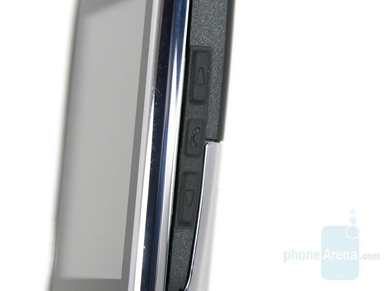 Side keys - Nokia E51 Review